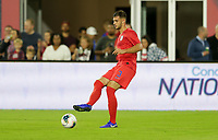 WASHINGTON, D.C. - OCTOBER 11: Matt Miazga #3 of the United States moves with the ball during their Nations League game versus Cuba at Audi Field, on October 11, 2019 in Washington D.C.