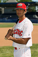 June 30th, 2007:  Oliver Marmol of the Batavia Muckdogs, Short-Season Class-A affiliate of the St. Louis Cardinals at Dwyer Stadium in Batavia, NY.  Photo by:  Mike Janes/Four Seam Images