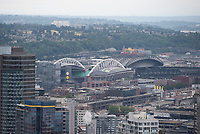 Seattle, WA - July 22, 2017: The USWNT travels to Seattle prior to the first match of the Tournament of Nations at CenturyLink Field.