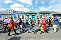 Secondline in Marigny Triangle, 2011