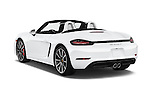 Car pictures of rear three quarter view of 2017 Porsche 718 Boxster-S 2 Door Convertible Angular Rear
