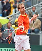 14-09-12, Netherlands, Amsterdam, Tennis, Daviscup Netherlands-Swiss,  Thiemo de Bakker