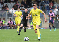 Alex Gilbert of Brentford B in action during Dulwich Hamlet vs Brentford B, Friendly Match Football at Champion Hill Stadium on 31st July 2021