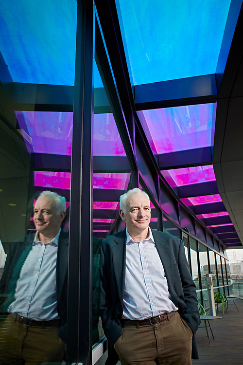 © John Angerson. HIGH RES<br /> For New Scientist <br /> Boris Ertl at the BP headquarters in Sunbury on Thames.