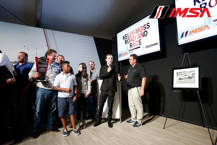 IMSA Porsche GT3 Cup Challenge USA<br /> Road Atlanta<br /> Road Atlanta, Braselton GA<br /> Friday 6 October 2017<br /> 2017 Porsche GT3 Cup USA Banquet, 24, Jake Eidson, GT3P, USA, 2017 Porsche 991<br /> World Copyright: Jake Galstad<br /> LAT Images
