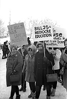 1967 02 SOI - BILL 25 - Manifestation