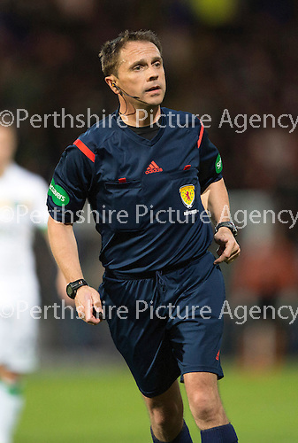 St Johnstone v Celtic...15.05.15   SPFL<br /> Referee Crawford Allan<br /> Picture by Graeme Hart.<br /> Copyright Perthshire Picture Agency<br /> Tel: 01738 623350  Mobile: 07990 594431