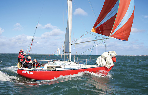 The Dublin Bay-based  Ruffian 23 has been identified as a keelboat type for its U25 programme support Photo: Afloat