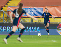 BREDA, NETHERLANDS - NOVEMBER 27: Samantha Mewis #3 of the USWNT dribbles during a game between Netherlands and USWNT at Rat Verlegh Stadion on November 27, 2020 in Breda, Netherlands.