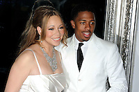 News Pictures--- PARIS, FRANCE - APRIL 27: US singer Mariah Carey and her husband Nick Cannon pose for photographers to celebrate their fourth wedding anniversary at the 'Plaza Athenee' Hotel, on April 27, 2012 in Paris, France. Local Caption Mariah Carey, Nick Cannon  .. Credit: Edouard Bernaux/News Pictures/MediaPunch inc. ***FOR USA ONLY*** NORTEPHOTO.COM<br /> **SOLO*VENTA*EN*MEXICO**