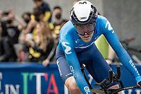 Antonio Pedrero (ESP/Movistar)<br /> <br /> 104th Giro d'Italia 2021 (2.UWT)<br /> Stage 1 (ITT) from Turin to Turin (8.6 km)<br /> <br /> ©kramon
