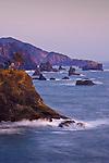 Sea stacks on southern Oregon coast.