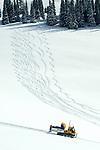 Grand Targhee, Wyoming.Kids Ski School