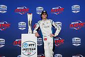 Colton Herta, Harding Steinbrenner Racing Honda, podium