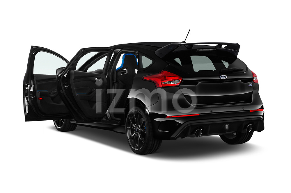 Car images close up view of a 2017 Ford Focus RS Limited 5 Door Hatchback doors
