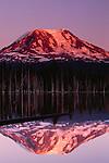 Mt. Adams' northern slope at sunset, Washington, USA