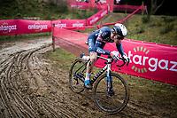 Niels Vandeputte (BEL/Alpecin-Fenix)<br /> <br /> 2021 UCI CX World Cup Overijse (BEL)<br /> Vlaamse Druivencross<br /> <br /> Men's Race<br /> <br /> ©kramon