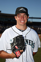 Peoria Javelinas pitcher Danny Hultzen #39 poses for a photo before an Arizona Fall League game against the Salt River Rafters at Peoria Sports Complex on November 2, 2011 in Peoria, Arizona.  Peoria defeated Salt River 4-2.  (Mike Janes/Four Seam Images)
