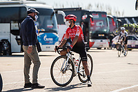 24th March 2021; Castelldefels, Catalonia, Spain; Volta Catalunya Cycling Tour stage 3 from Canal Olimpic de Catalunya to Vallter 2000; NAIRO QUINTANA of TEAM ARKEA - SAMSIC
