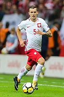 04.09.2017, Warszawa, pilka nozna, kwalifikacje do Mistrzostw Swiata 2018, Polska - Kazachstan, Krzysztof Maczynski (POL), Poland - Kazakhstan, World Cup 2018 qualifier, football, fot. Tomasz Jastrzebowski / Foto Olimpik<br /><br />POLAND OUT !!!! *** Local Caption *** +++ POL out!! +++<br /> Contact: +49-40-22 63 02 60 , info@pixathlon.de