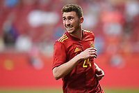 4th June 2021; Madrid, Spain International football friendly, Spain versus Portugal,  Aymeric Laporte of Spain during the friendly match between Spain and Portugal played at Wanda Metropolitano Stadium