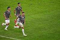 Rio de Janeiro (RJ), 08/07/2020 - Fluminense-Flamengo - Gilberto, do Fluminense, comemora gol. Partida entre Fluminense e Flamengo, válida pela final Taça Rio do Campeonato Carioca 2020, no Estádio Jornalista Mário Filho (Maracanã), na zona norte do Rio de Janeiro, nesta quarta-feira (08).