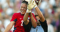 Abby Wambach, left, Silke Rottenberg, right, 2003 WWC. Germany 3-0.