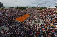Paris, France, 4 June, 2017, Tennis, French Open, Roland Garros, Court Suzanne Lenglen<br /> Photo: Henk Koster/tennisimages.com
