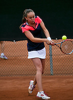 August 6, 2014, Netherlands, Rotterdam, TV Victoria, Tennis, National Junior Championships, NJK,  Romy Kerkhove (NED)<br /> Photo: Tennisimages/Henk Koster