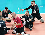 Austin Hinchey, Mickael Bartholdy, Doug Learoyd, and Bryce Foster, Lima 2019 - Sitting Volleyball // Volleyball assis.<br />