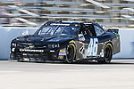Matt Dibenedetto (46) in action during the NASCAR Nationwide Series qualifying at Texas Motor Speedway in Fort Worth,Texas.