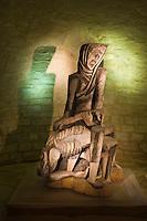 Europe/France/Midi-Pyrénées/46/Lot/Les  Arques: Eglise Saint-Laurent - La Pietà de Zadkine  - Mention Obligatoire - Copyright ADAGP - Droit à verser ADAGP