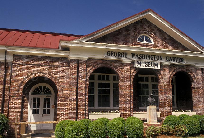 AJ4000, university, George Washington Carver, Tuskegee Institute National Historic Site, Alabama, George Washington Carver Museum and Visitor Center at the Tuskegee Institute Nat'l Historic Site in Tuskegee in the state of Alabama.