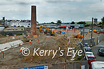 Work underway at the Island go Geese site in Tralee on Tuesday.