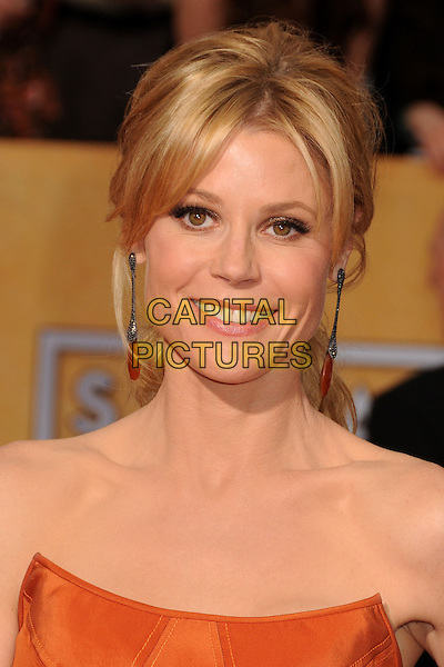 18 January 2014 - Los Angeles, California - Julie Bowen. 20th Annual Screen Actors Guild Awards - Arrivals held at The Shrine Auditorium. Photo Credit: Byron Purvis/AdMedia<br /> CAP/ADM/BP<br /> ©Byron Purvis/AdMedia/Capital Pictures