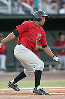 August 14, 2009: Jordan Cheatham of the Great Falls Voyagers. The Voyagers are Pioneer League affiliate for the Chicago White Sox. Photo by: Chris Proctor/Four Seam Images