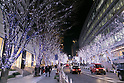 Christmas illuminations at Roppongi Hills