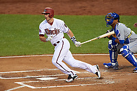 Arizona Diamondbacks Paul Goldschmidt bats during the MLB All-Star Game on July 14, 2015 at Great American Ball Park in Cincinnati, Ohio.  (Mike Janes/Four Seam Images)