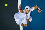 Jurgen Melzer of Austria in action during the Day 9 of the PTT Thailand Open at Impact Arena on October 3, 2010 in Bangkok, Thailand. Photo by Victor Fraile / The Power of Sport Images