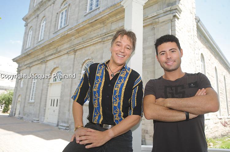 Richard Abel , Corneliu<br /> <br /> Photo : Jacques Pharand<br />  -  agence quebec presse