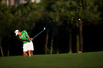 TAOYUAN, TAIWAN - OCTOBER 22: Hee-Won Han of South Korea plays a shot on the 17th hole during day three of the LPGA Imperial Springs Taiwan Championship at Sunrise Golf Course on October 22, 2011 in Taoyuan, Taiwan. Photo by Victor Fraile / The Power of Sport Images