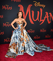 """LOS ANGELES, CA: 09, 2020: Ming-Na Wen at the world premiere of Disney's """"Mulan"""" at the El Capitan Theatre.<br /> Picture: Paul Smith/Featureflash"""