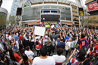 USWNT Fan Rally LA Live, Tuesday, July 7, 2015