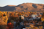 The sun rises over downtown Carson City, Nev., on Saturday, Oct. 26, 2019.  <br /> Photo by Cathleen Allison/Nevada Momentum