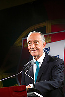 LISBON, PORTUGAL - DECEMBER 7: Portugal president Marcelo Rebelo de Sousa speaks during a press conference in Lisbon, on December 7, 2020. Marcelo Rebelo de Sousa President of Portugal, in a message to the country made from a pastry shop in Belém, the Portugal President confirmed that he will be a candidate for the Presidency of the Republic on the upcoming presidential elections next year.<br /> (Photo by Luis Boza/VIEWpress via Getty Images)
