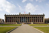 Altes Museum, Berlin. Karl Friedrich Schinkel built 1825-1830. Renovated 1966