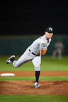 Glendale Desert Dogs pitcher Nolan Sanburn (30), of the Chicago White Sox organization, during a game against the Scottsdale Scorpions on October 14, 2016 at Scottsdale Stadium in Scottsdale, Arizona.  Scottsdale defeated Glendale 8-7.  (Mike Janes/Four Seam Images)