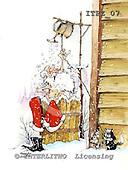 Fabrizio, Comics, CHRISTMAS SANTA, SNOWMAN, paintings, ITFZ07,#x# Weihnachten, Navidad, illustrations, pinturas