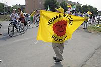 - Caorso, manifestazione presso il sito della centrale nucleare in sostegno ai referendum popolari contro il nucleare e la privatizzazione dell'acqua<br /> <br /> - Caorso, demonstration at the  nuclear power  plant site in support for the popular referendum against nuclear power and the privatization of water