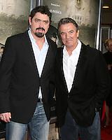 "Christian Gudegast & Eric Braeden (son & Father).""The Man Who Came Back"" Premiere.Aero Theater.Santa Monica, CA.February 8, 2008.©2008 Kathy Hutchins / Hutchins Photo...."
